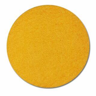 Filzuntersetzer rund 10 cm gelb